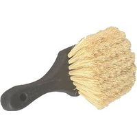 ROUND TAMPICO BRUSH/8IN HANDLE