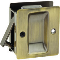Passage Pocket Door Latch, 1 3/8""