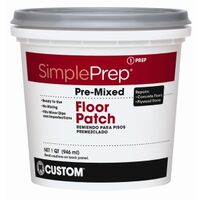 Premix Floor Patch, Quart