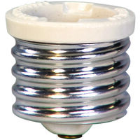 Mogul to Medium Base Socket Reducer, White