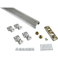 Bypass Door Hardware Set, 6'