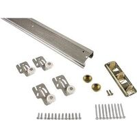 Bypass Door Hardware Kit, 4'