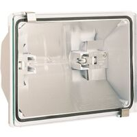 Quartz Floodlight White, 300 Watts