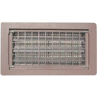 Energy Saver B-E BROWN (MB) Foundation Vent With Damper