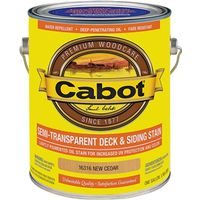 Cabot 16316 Semi-Transparent Deck and Siding Stain