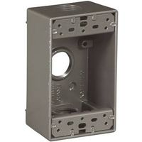 Arrow Hart 1116-SP 3-Hole Weatherproof Outlet Box