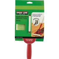 STAIN PAD WITH GROOVE TOOL