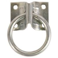 Koch 2760001 Hitch Ring with Mounting Plates