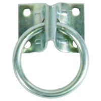 2-Hitch Ring W/Mounting Plate