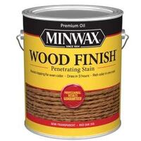 Minwax Wood Finish Interior Stain, 1 Gal Red Oak