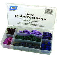 Faucet Washer Kit 200 Pcs Flat