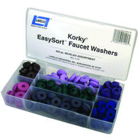Faucet Washer Kit 200 Pc Beveled