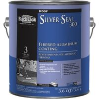 Fibered Aluminum Roof Coating, 1 Gal