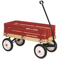 Radio Flyer Model No 24 Toy Wagon 36 in L x 16-1/2 in W x 9-1/2 in D