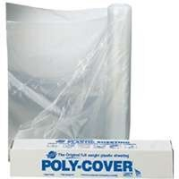 4 Mil Clear Poly, 8' x 50'