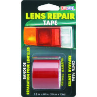 RED LENS REPAIR TAPE 1.5 X 5''