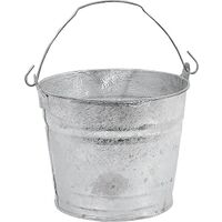 Metal Water Bucket, 4 Qt
