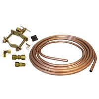 AMC 60004 Carded Ice Maker Installation Kit With Copper Tubing