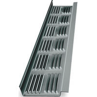 Soffit Vent, 8' Louvered