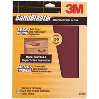 Premium Sand Paper? With NO-SLIP GRIP? Backing
