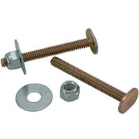 "1/4"" x 2 1/4"" Toilet Bolt Set"