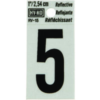 #5 Rv Series Vinyl Number/Letter
