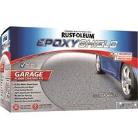Epoxy Shield Garage Floor Kit, Gray, Gloss