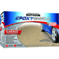 Epoxy Shield Garage Floor Kit, Tan