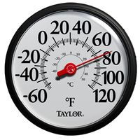 Taylor 6700 Weather Resistant Shatterproof Dial Thermometer