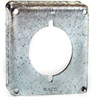 "4"" Square 30 50 Amp Single Receptacle Cover"