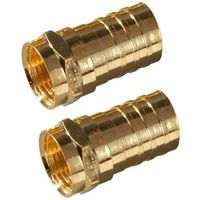 Zenith VA1002RG6CR Type F Coaxial Connector
