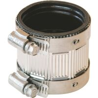 Stainless Steel No Hub Coupling, 1 1/2""