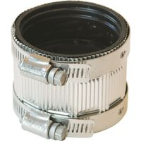 Stainless Steel No Hub Coupling, 2""