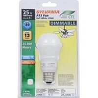 Soft White Dimmable Compact Fluorescent,  25W Replacement