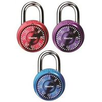 Master Lock 1533TRI Mini Combination Padlock