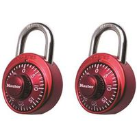 Master Lock 1530T Assorted Combination Padlock Set