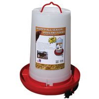 LITTLE GIANT HPF100 HEATED PLASTIC POULTRY FOUNT 3 GALLON