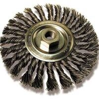 KNOT WHEEL BRUSH CABLE TWIST