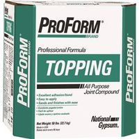 Proform jt0075 ready mix topping joint compound 50 lb for National gypsum joint compound