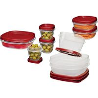 Eazy Find Lids 1777170 Square Food Container Set