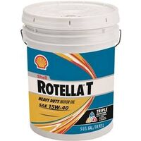 Rotella Motor Oil, 15W40, 5gal