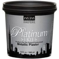 Metallic Plaster, 1 Qt Silver Fox