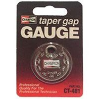 Champion CT-481 Dollar Taper Gap Gauge