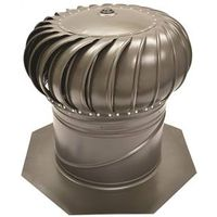 GAF Master Flow AIC14WW Internal Braced Rotary Turbine Ventilator