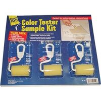 Color Tester Sample Kit, 12 Pc