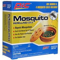PIC Mosquito Coil Burner