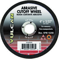 "Abrasive Cut Off Wheel, 4"" x 3/32"""