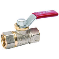Brass Ball Valve, 1/8""