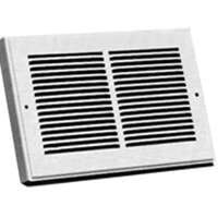 "Return Air Grille Baseboard Register, 6"" x 12"""