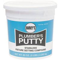 Harvey's 043105 Plumbers Putty